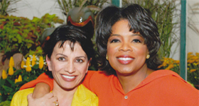 Oprah and Suraya Sadeed